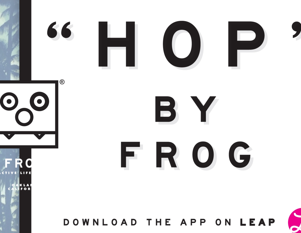 APP DEVELOPED FOR FROG CUSTOMER LOGIN